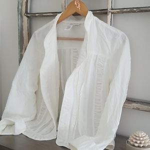 Coldwater Creek Shabby Chic lightweight jacket.